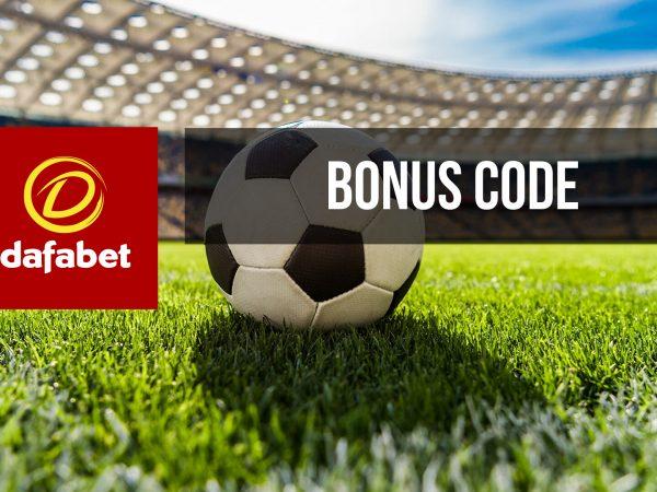 Bonus code Dafabet